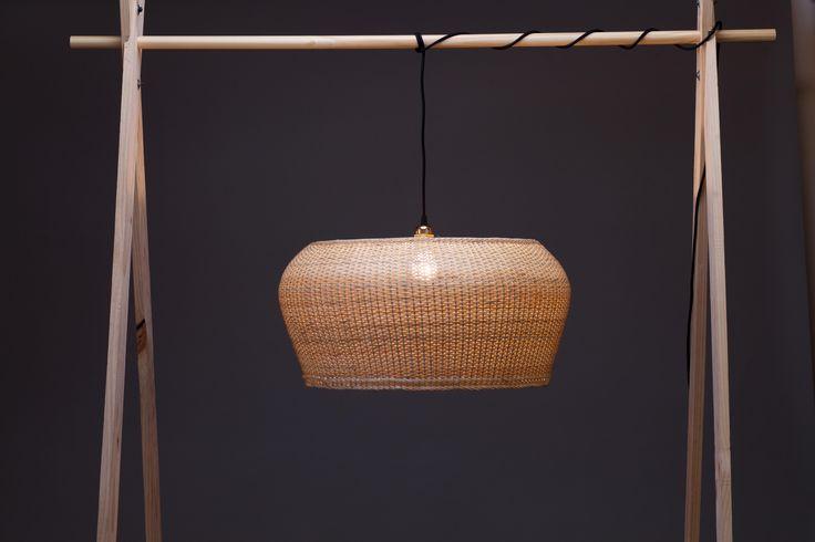 Ale.02 | Lámpara de mimbre