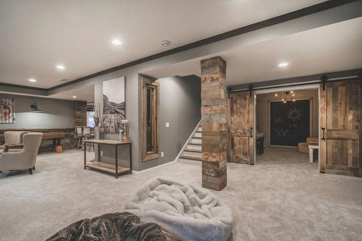 In Redesigning Your Basement You Probably Have Seen A Lot Of Inspiring Designs That Features Spacious A Small Basement Remodel Rustic Basement Basement Design