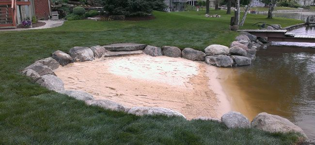 We Build Seawalls and Docks that add Beauty to Your Landscape   Cutrite Lawn & Landscapes, serving Lapeer and Oakland Counties, MI