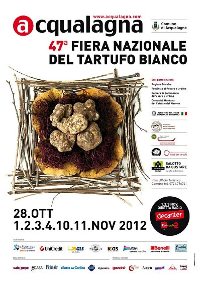 47th National White Truffle Fair of Acqualagna Le Marche