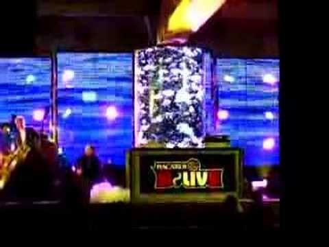 Led Column made by Videofabrika.ru with Mistrip 1.5 meters long High is 3 meters D is 1.4meters