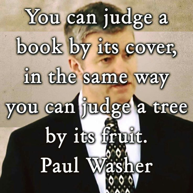 christian quotes | Paul Washer quotes | fruits | judging