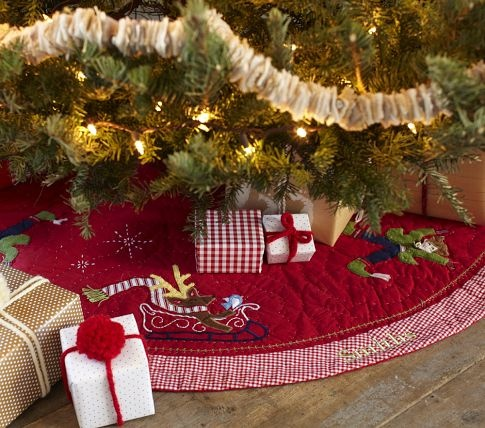 28 Best Christmas Tree Skirt Images On Pinterest