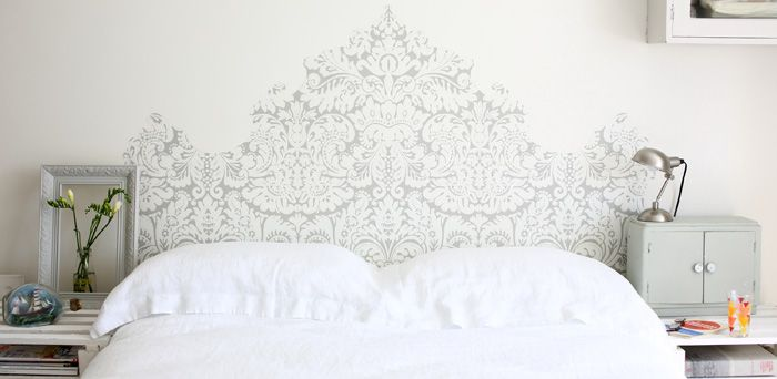 Get dreamy with a headboard - 10 ways with wallpaper