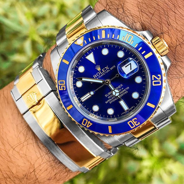 348a1d8da1d Rolex Submariner Two-Tone With Blue Dial! Rate This Two-Tone 1-10 ...
