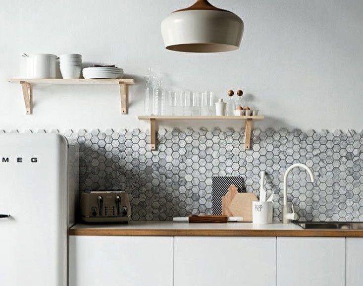 25 beste idee n over achterwand tegel op pinterest - Deco keuken oud land ...