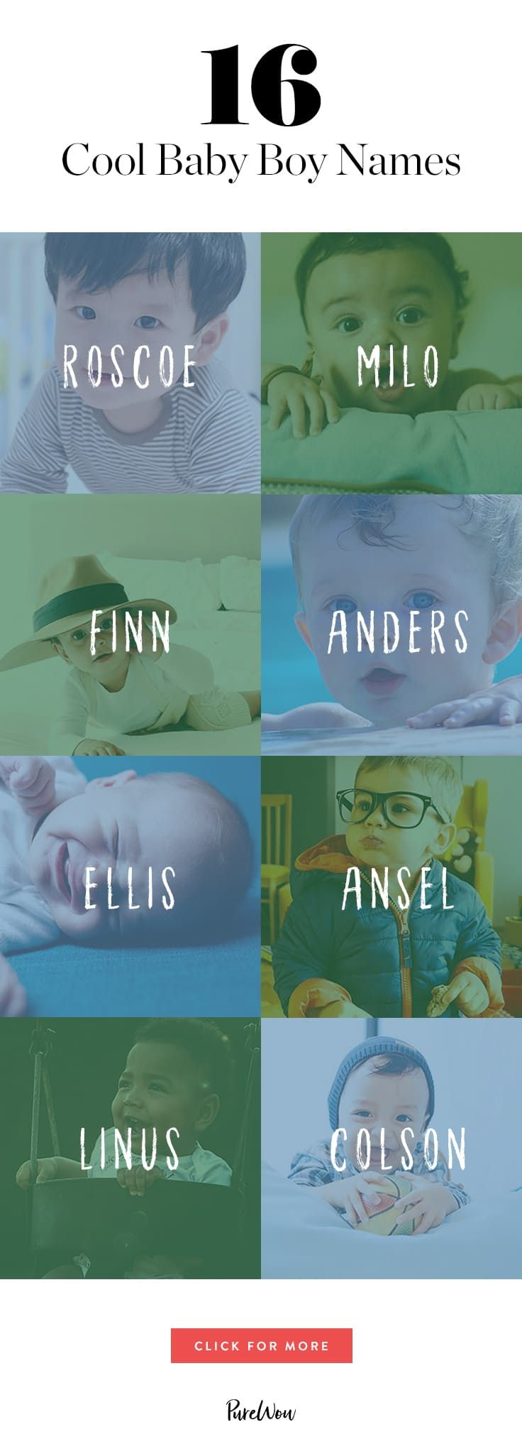 Ansel! 16 Cool Baby Boy Names You Haven't Thought Of via @PureWow