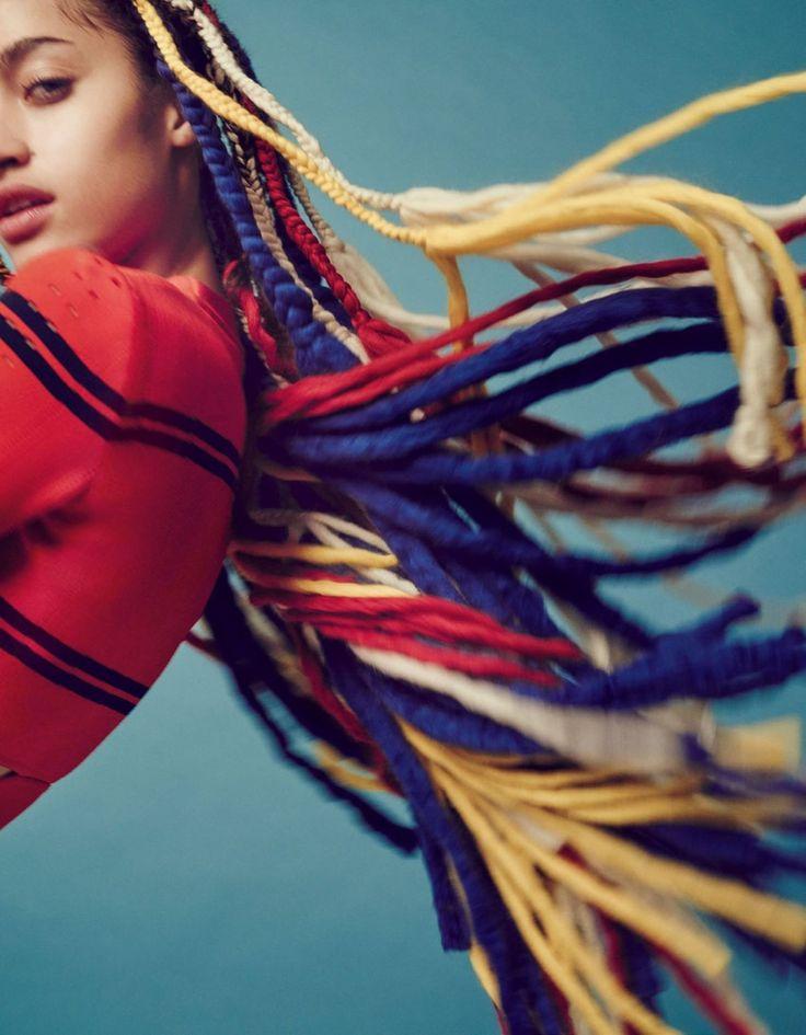 Vogue Japan May 2017 Alanna Arrington and Maria Clara by Jem Mitchell - Fashion Editorials