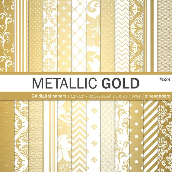 Documenti digitali d'oro Oro metallico documenti di eltendedero