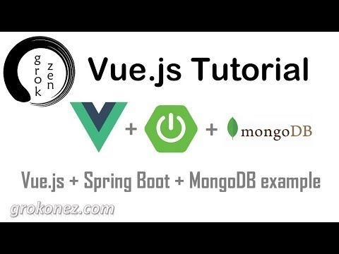 Vue Spring Boot example - Vue Spring Boot tutorial - Vue Spring Boot