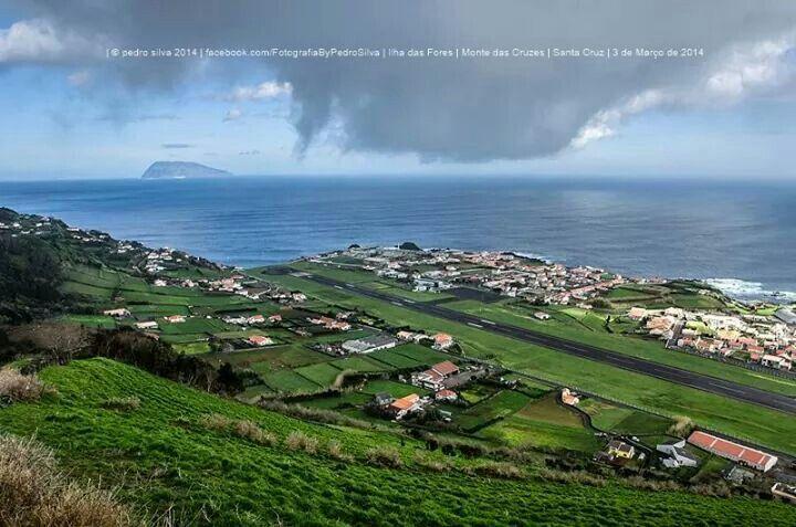 Monte das Cruzes . Santa Cruz @ Flores Island . Azores . Portugal