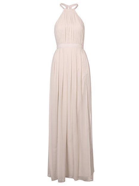 Halterneck Beaded Dress