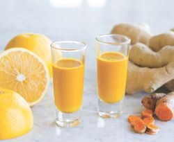 Medical Medium BlogTURMERIC-GINGER SHOTS  These fiery, immune-boosting shots are a tasty variation on the turmeric-ginger serum I mentioned above. A go-to option for the first sign of a cold, these shots will help your body fight back against anything tha