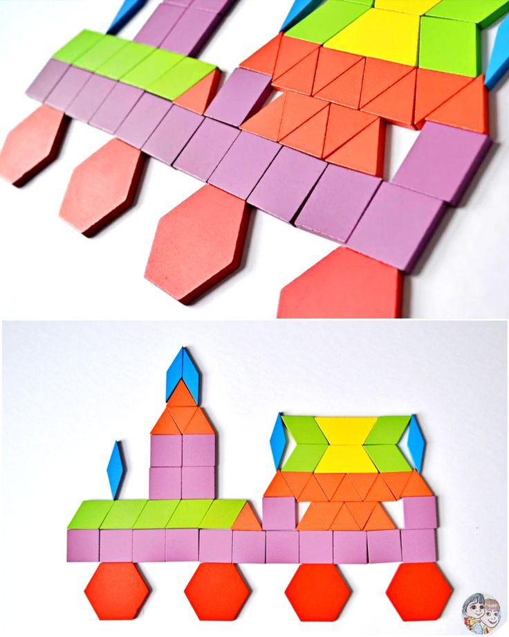 learn how to make a tangram train easy tangram puzzles