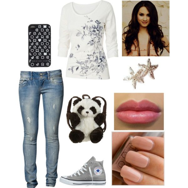 A fashion look from July 2013 featuring Fat Face t-shirts, LTB jeans and Panda backpacks. Browse and shop related looks.
