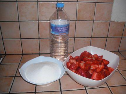Recette de Sirop de fraise
