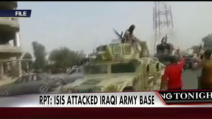 ISIS has reportedly attacked an Iraqi army base, and 300-500 Iraqi soldiers may be missing.