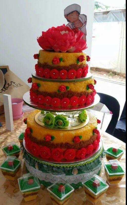 Wedding Glutinous Rice (pulut kuning)
