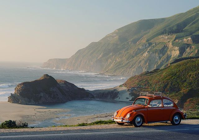 Mood. . . . #airdriven #aircooled #aircooled_world #aircooled_society #vwmafia #vwbeetle #volkswagen #california #costal #beach #bigsur #highway1 #type1 #volkswagenbeetle #volkswagenlife #vwbug #vw #oldschoolcool #driveit #drivewaymechanic #classic #classiccars #4speed #calocals - posted by Drew Rausch https://www.instagram.com/droo.rausch - See more of Big Sur, CA at http://bigsurlocals.com