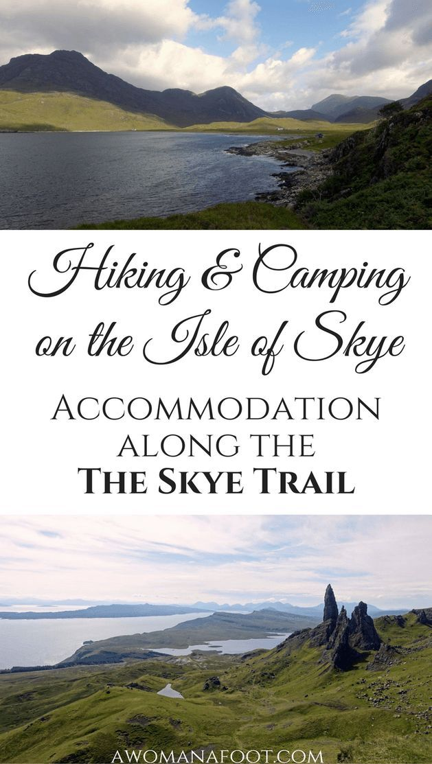 Camping on Skye: Find out where you can stop for the night along the Skye Trail: wild camp spots, camp sites and bothies. | hiking in Scotland | wild camping in Scotland | wild camping on Skye | hill walking on the Isle of Skye | solo travel | female solo hiking | awomanafoot.com