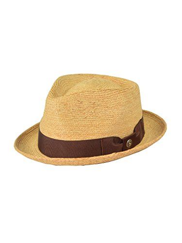 """Stetson And Dobbs Hats TS42ND-4017 42Nd Street Fedora  Stetson And Dobbs Hats TS42ND-4017 42Nd Street Fedora Stetson '42nd Street' straw hats for men. This pinch front straw fedora hat isets you apart from the rest. Features a 2"""" snap brim, solid brown ribbon and a cotton sweat band.  http://www.beststreetstyle.com/stetson-and-dobbs-hats-ts42nd-4017-42nd-street-fedora-2/"""
