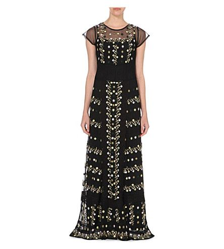 FRENCH CONNECTION Springfield embroidered maxi dress. #frenchconnection #cloth #dresses