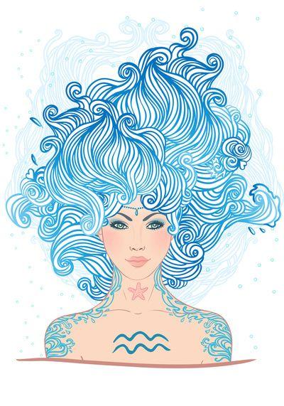 Aquarius Art Print by Varvara Gorbash