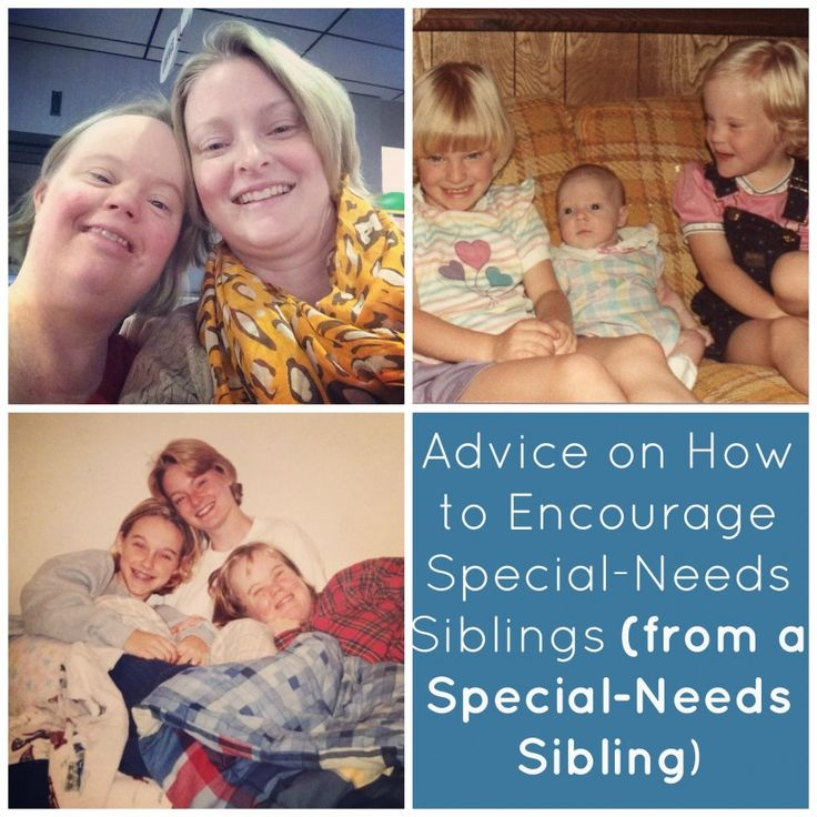 Sibling and parents of disabled children