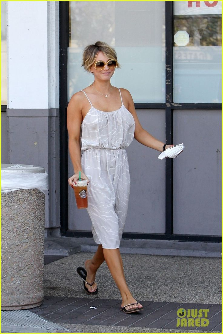 Kaley Cuoco Debuts Brand New Pixie Haircut! | kaley cuoco ryan sweeting spend sunday together 02 - Photo