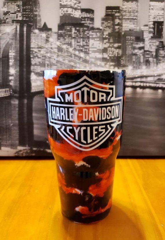 Harley Davidson Custom Inked Tumblers Tumbler Designs