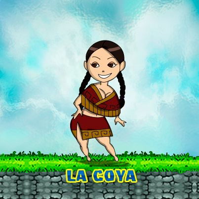 La Coya was a woman in the Incas Empire. She could be the wife of Inca. #coya #inca #peru #games
