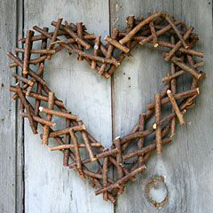 Twig lattice heart