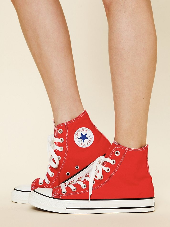 red chucks = a must
