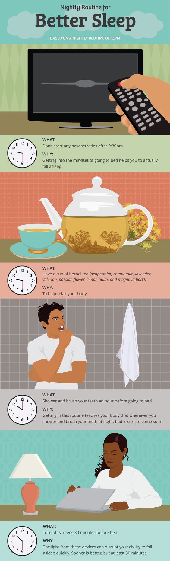 Nightly Routine for Better Sleep
