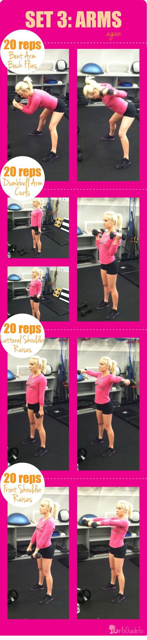 Arms Workout www.thepageantplanet.com