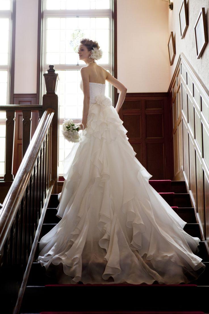EPNV19 #NOVARESE #weddingdress #organdie