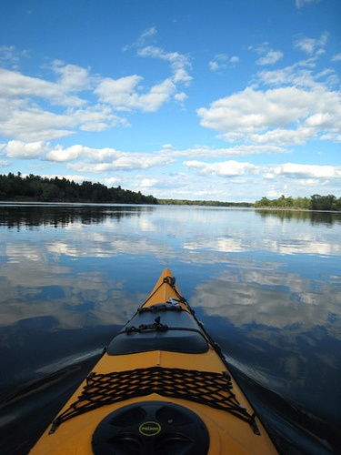 Kayaking down the Wisconsin River near the Dells by Fox, via Flickr