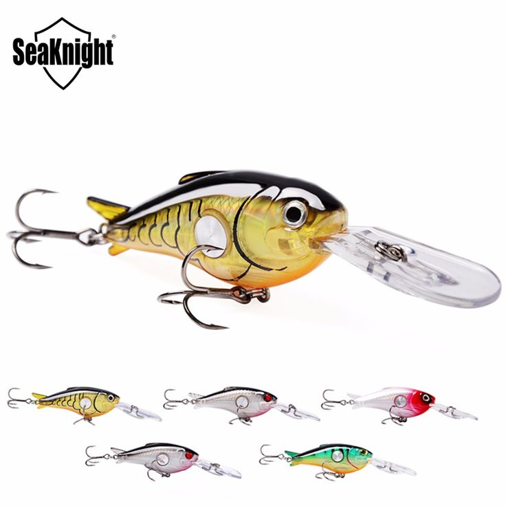 5Pcs/lot SeaKnight 55mm 10g Hard Fishing Lures Crankbait 1.8-3.9M Floating Wobblers Best Crank Hard Bait for Sea Carp Fishing