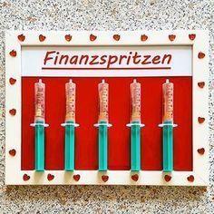 #finanzspritzen #finanzspritze #geld #geldgeschenk #hochzeit