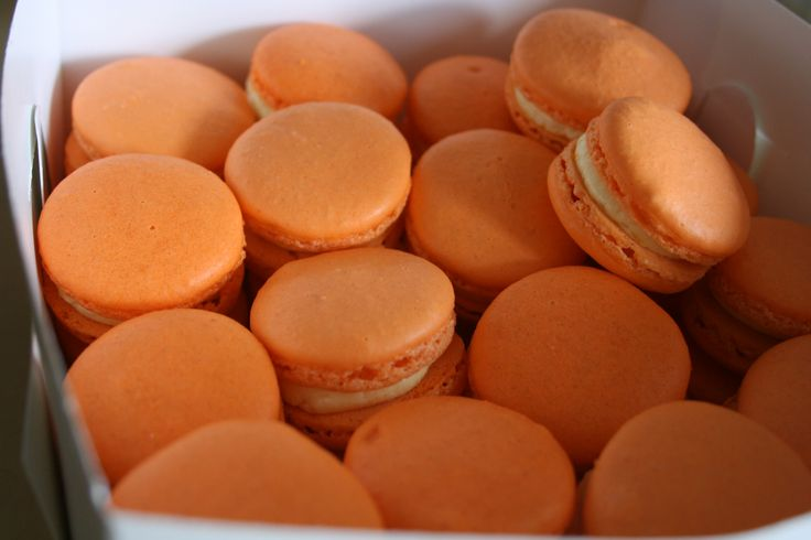 makaroniki pomarańczowe