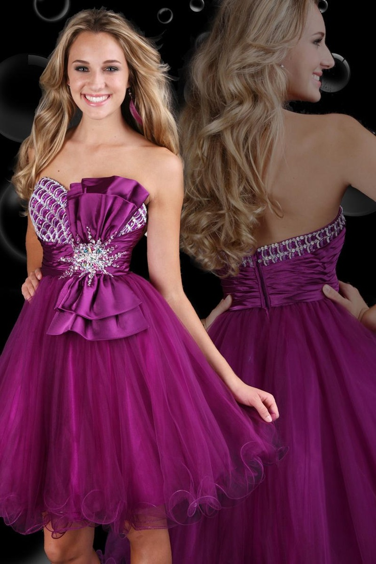 32 best Wedding Bridesmaid Dresses Purple images on Pinterest ...
