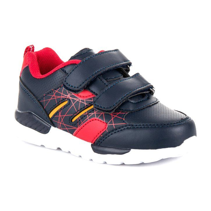 Buty Sportowe Dzieciece Dla Dzieci Americanclub Niebieskie Obuwie Na Rzepy American American Club Sneakers Shoes New Balance Sneaker
