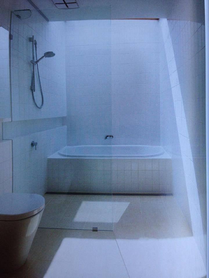 Skylight void above bath or shower