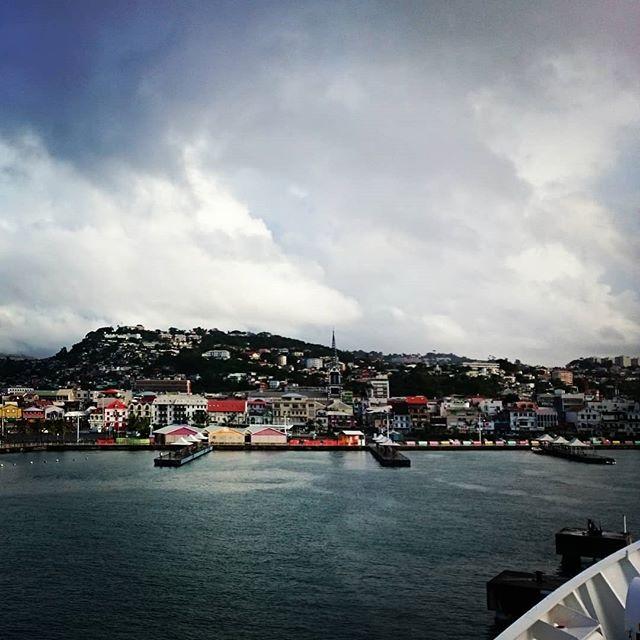 Rainy  welcome to Martinique