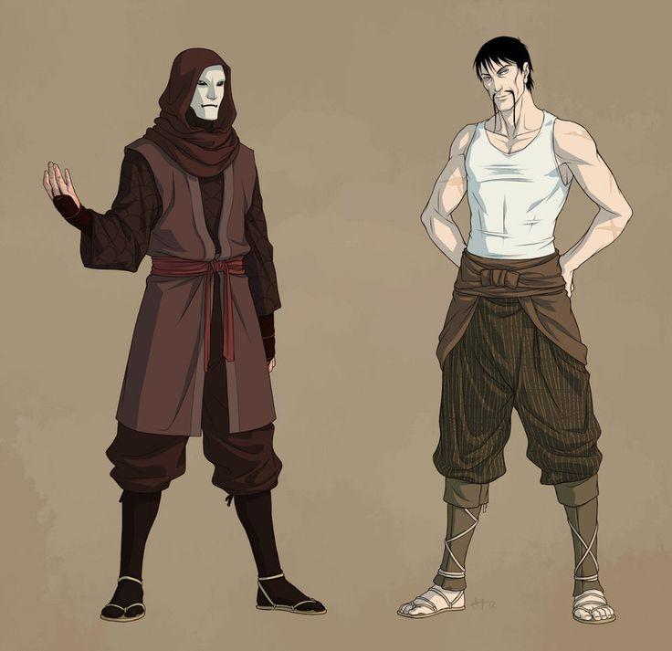 Legend of Korra - Noatak (Amon) x Lieutenant - Lieumon