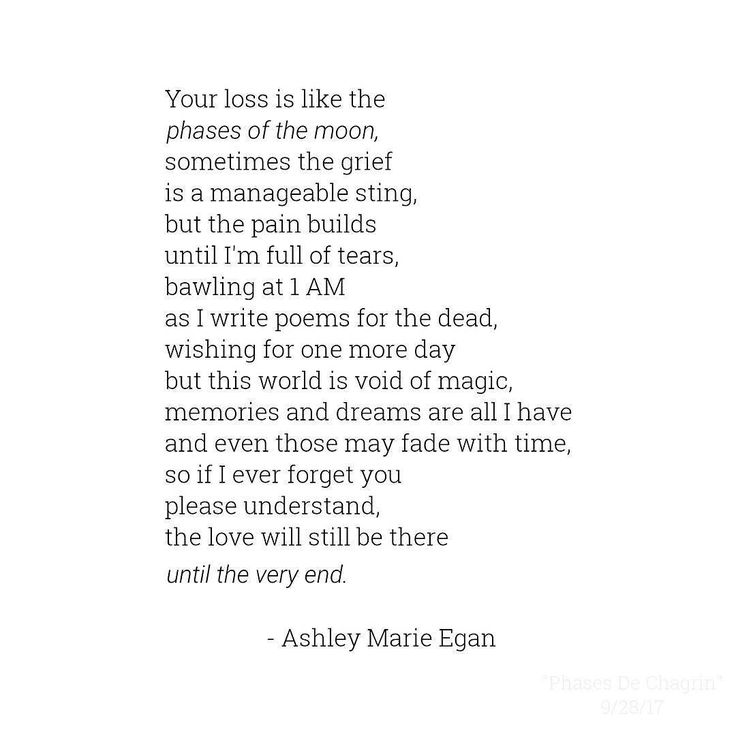 Phases De Chagrin  It's in times of grief when magic is hardest to believe in but in time you can find your way back.  Stãy weîrđ my darlings & keep living this crazy beautiful life.  #AMEPoetry #MPY