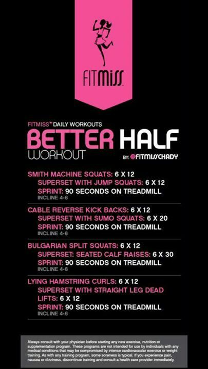 Better Half  Workout | Posted By: NewHowtoLoseBellyFat.com