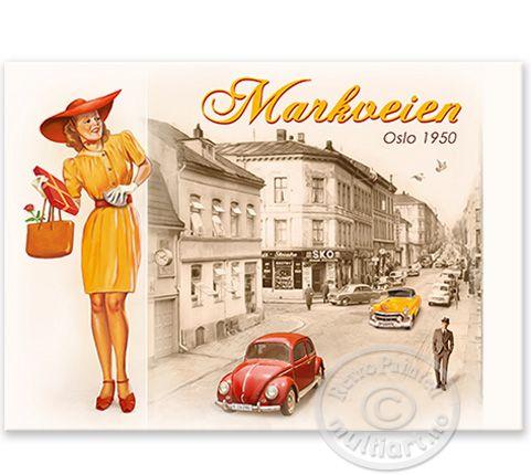 Markveien - Retropainted