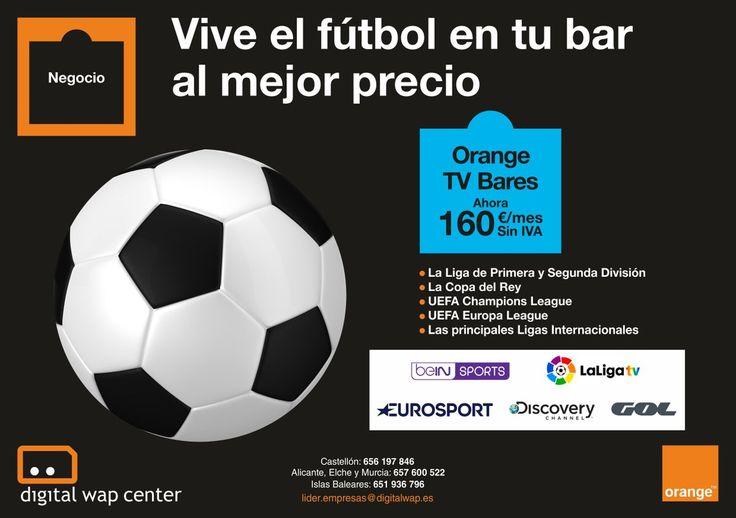 ¡Vive el mejor ⚽️ #fútbol ⚽️ al mejor precio! y que tu #bar sea el punto de reunión.