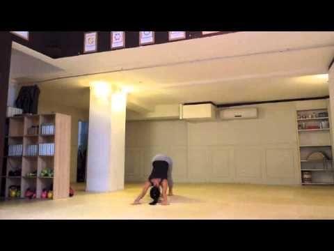 Yoga - Sequenza peril mattino in 5 minuto - YouTube